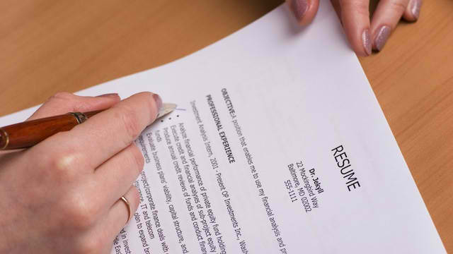 how to write an effective resume and cv