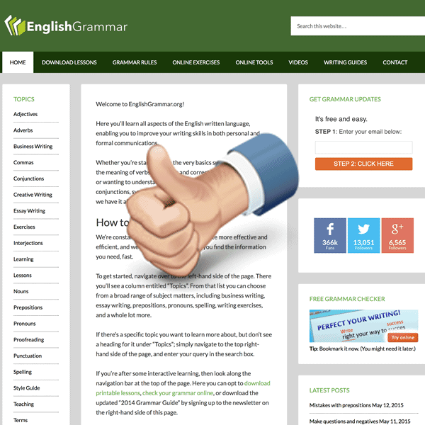 English Grammar Your Guide To Error Free Writing