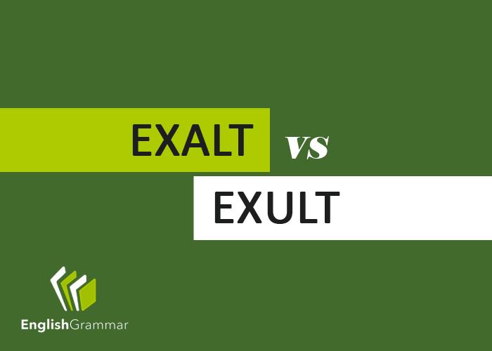 use exult in a sentence