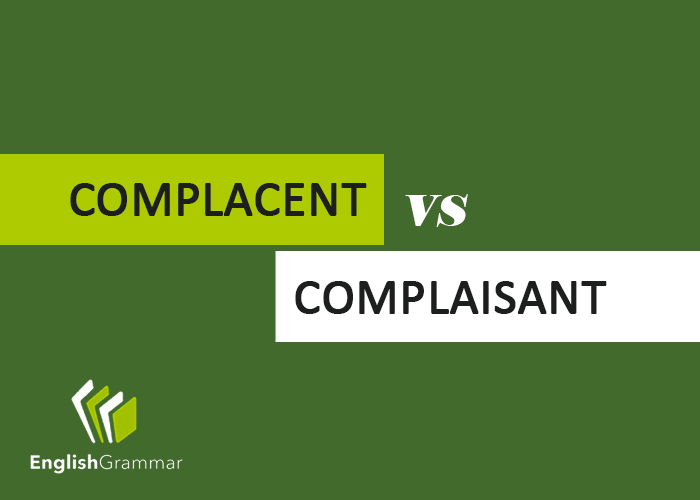 Complacent vs complaisant for Farcical noun