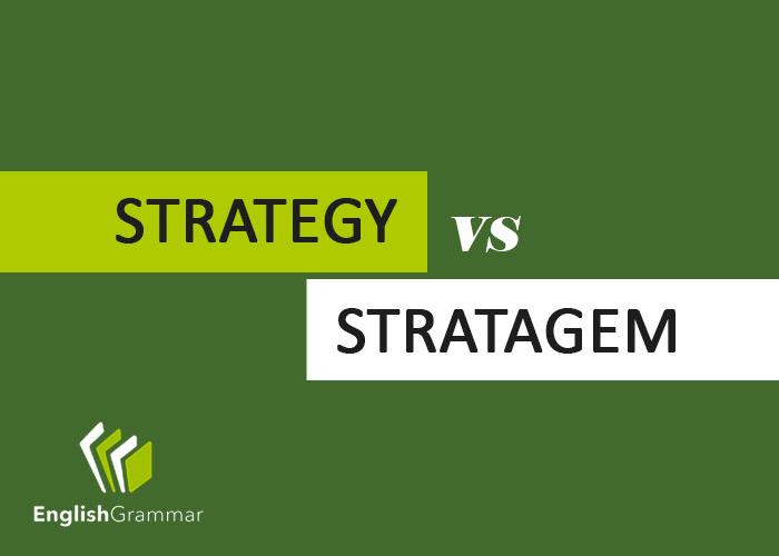 Strategem  Letters